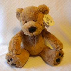 Floppy Bear, soft toy in Brown.